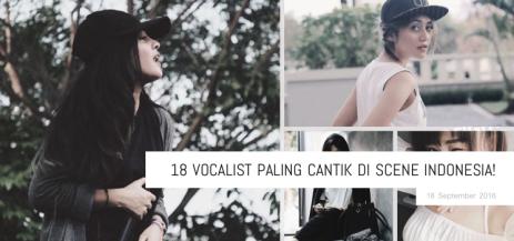 Vocalist Cantik